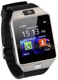 dz09 single sim smart phone watch   Souq - UAE