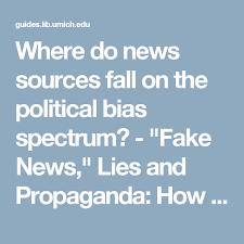 Political Do Bias News Where Spectrum