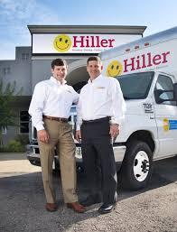 jimmy hiller and jimmy hiller jr at hiller plumbing heating