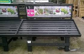 Garden Centre Display Stands Recycled Plastic Lumber Supplier UK Recycled Plastic Lumber 1