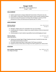 Resume For A Daycare Job Daycare Resume Objective Sample Job And Template 100x100 For 39