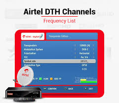 Airtel Rate Chart Airtel Dth Frequency 2019 List Of Airtel Digital Tv Channel