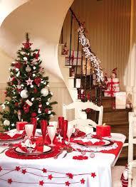 table de noel rouge et blanc – up-up