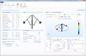 Centrifugal Governor Design Multibody Dynamics Module Comsol 5 2 Release Highlights
