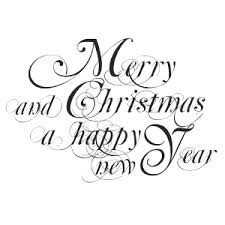 merry christmas and happy new year 2015 black and white. Merry Christmas And Happy New Year Text 03 2015 Black White