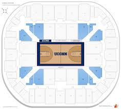 Gampel Pavilion Connecticut Seating Guide Rateyourseats Com