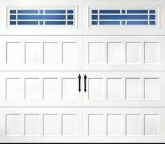 amarr garage door parts garage door door design recessed windows long panel prairie color true white