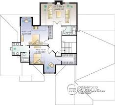 Small Picture House plan W2661 detail from DrummondHousePlanscom