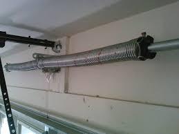 image of broken garage door springs