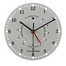 plain time tide wall clock