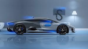 jaguar cx 75 crystal home car