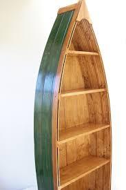 wooden canoe shelf designs