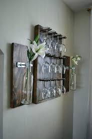 wall mounted stemware racks wall mounted wine glass rack maybe you have time to do the