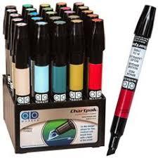 Chartpak Ad Markers L Landscape Colors Tri Nib Tip 25 Color