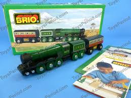 brio 33433 flying scotsman wooden railway train of world new