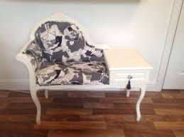 telephone hall table. Hall Table For Best Telephone Chaise Shabby Chic Chair Bedroom Grey L