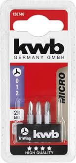 <b>Бита Kwb</b> Micro TRI-WING 28мм 3шт 128740 | www.all220v.ru