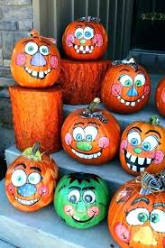 pumpkin character ideas painting pumpkins easy best on painted interior design decorated without carving i pumpkin character ideas