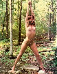 In the woods bondage