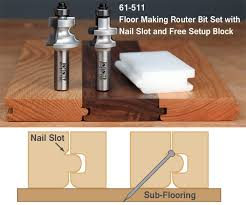 tongue and groove router bits for flooring designs