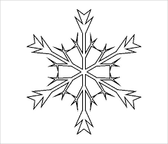 Frozen Elsa Snowflake Template Download 15 free snowflake template free printable word, pdf, jpeg on christmas newsletter template free pdf