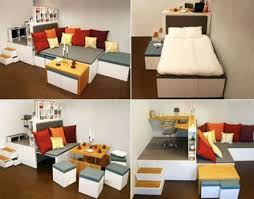 Interesting Furniture For Small Spaces and Modern Furniture For