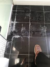 black marble floor tiles. Black Polished Marble Bathroom Floor In Baldock Before Limescale Removal Tiles R