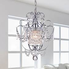 Chrome Bathroom Lighting Fixtures Custom Shop Chrome Crystal Chandelier Free Shipping Today Overstock