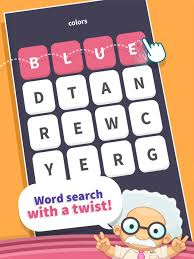 wordwhizzle search on the app