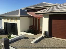House Colours Colorbond Roof Guttersdune Facias Basalt Exterior - Exterior walls