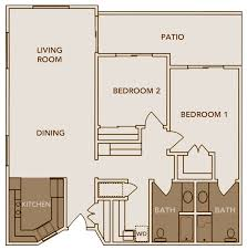 >astounding 2bedroom 2bath house plans images best idea home  lovely floor plans 2 bedroom 1 bath house and asl 1024x844