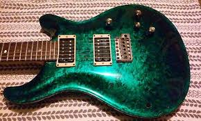 Prs Rare Multifoil Finish Usually On Ce 24 Models The