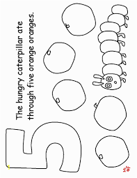 Hungry Caterpillar Coloring Pages Pdf Very Hungry Caterpillar