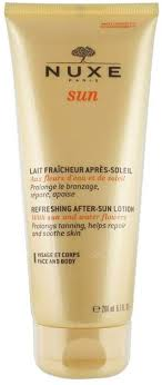 <b>Nuxe Sun</b> by Nuxe <b>Refreshing</b> After-Sun Lotion for Face and Body ...