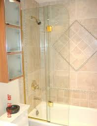 home architecture extraordinary folding glass shower doors in bi fold fl folding glass shower doors