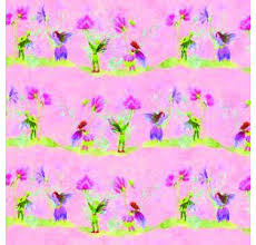 Behang Roze Fairies Paperstreets Ahead Diy333