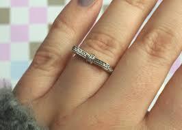 7 5 56 190906cz new zealand pandora bow ring pandora rings silver bow e5f0e c1698