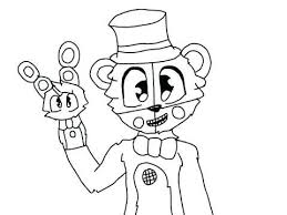 Fnaf Coloring Pages Funtime Freddy Coloring Pages 2019