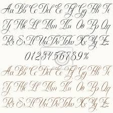 Plakát Tattoo Písmo