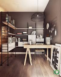 Small Picture Home Office Designs Home Office With A Hidden Bed And Ample