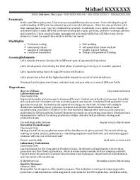 Bioinformatics Resume Sample Formulation Scientist Resume Sample it fresher resume 100 free word 98