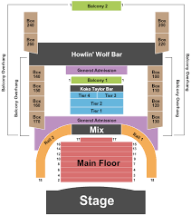 House Of Blues Seating Chart Chicago