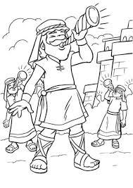 Print Coloring Image Bible Story Crafts Preschool Bible Bible