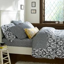 damask duvet cover pillowcases black pbteen damask pillows