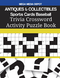 Come To Light Crossword Antiques Collectibles Sports Cards Baseball Trivia