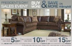 SofasAndSectionals Celebrates President s Day with Increasing