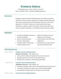 Resume For Customer Service Cool Customer Service Combination Resume Resume Help