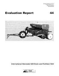 International 510 Grain Drill Seed Chart 44 International Harvester 620 Grain And Fertilizer Drill