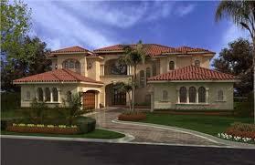 House plans mediterranean villa