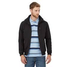 maine new england big and tall black shower resistant blouson jacket wrmugf